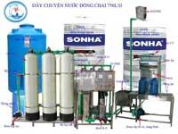 Hệ thống lọc nước tinh khiết 750l/h
