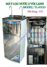 Máy lọc nước uống 2 vòi lạnh 4 cấp lọc