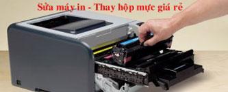 Sửa chữa thay hộp mực máy in