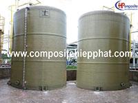 Bể chứa hóa chất HCl