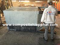 Bọc phủ composite bồn sắt