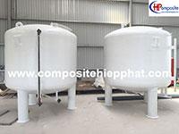 Bồn chứa nước mắm composite