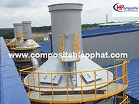 Tháp Composite xử lý khí thải