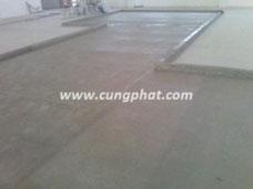 Phủ composite sàn bê tông