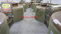 Bồn Composite FRP chứa dấm ăn