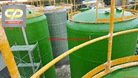 Bồn Composite FRP chứa dầu cá