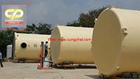 Bồn Composite FRP chứa dầu điều