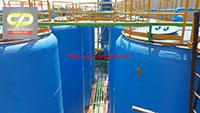 Bồn Composite FRP chứa acid HCl