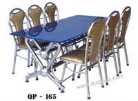 Bộ bàn ghế Inox cao cấp