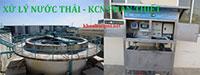 Hệ thống xử lý nước thải khu CN