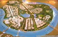 Mô hình quy hoạch khu đô thị mới Thủ Thiêm