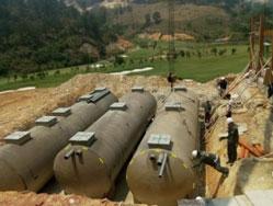 Hệ thống xử lý nước thải bằng bồn composite