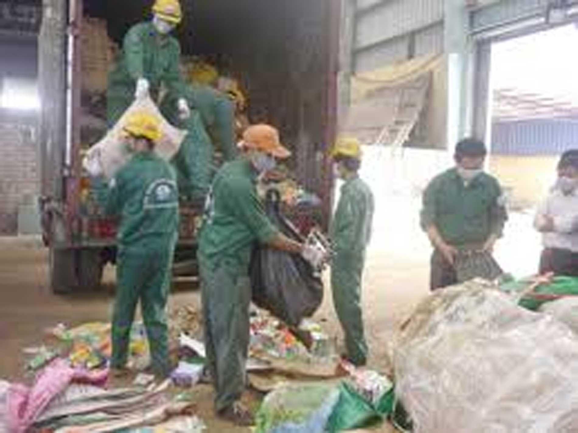Xử lý chất thải khu chế xuất