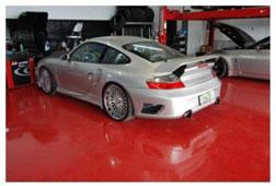 Sơn Epoxy garage ô tô