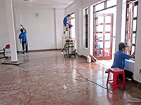 Dịch vụ vệ sinh nhà sau xây dựng