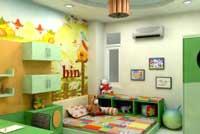 Thiết kế nội thất phòng trẻ em