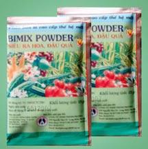 Bimix siêu ra hoa đậu quả
