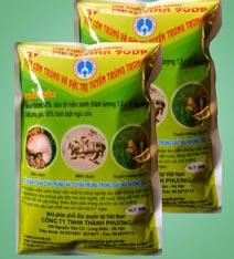 Chế phẩm nấm xanh diệt côn trùng trong đất