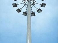 Cột đèn nâng hạ đa giác
