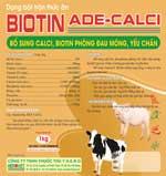 Biotine ADE Calci