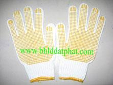 Găng tay sợi phủ hạt