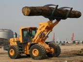 Máy xúc lật kẹp gỗ Changlin
