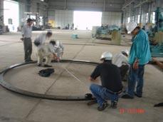 Gia công mặt bích đường ống 6m