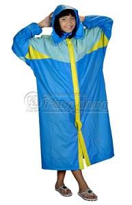 áo mưa kiểu phối thân