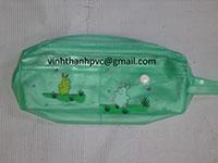 Túi nhựa PVC đựng bút