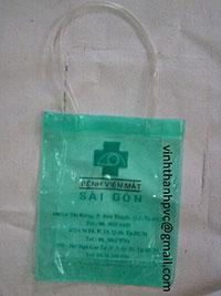 Túi xách nhựa PVC