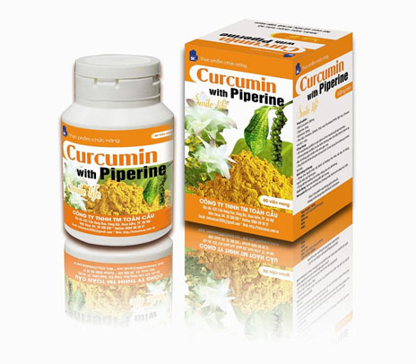 Curcumin with Piperine