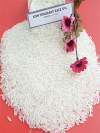 Gạo thơm KDM 5% tấm