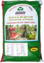 Phân hữu cơ sinh học HuMix dùng bón cho cây thanh long