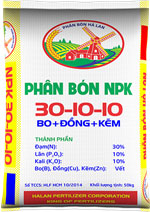 Phân bón NPK 30-10-10+TE