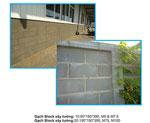 Gạch Block xây tường