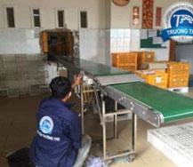 Băng tải nhựa PVC