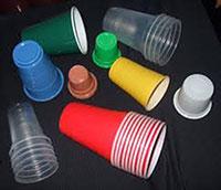 Ly và nắp ly nhựa