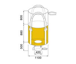 Bao Jumbo ống - QTP-02