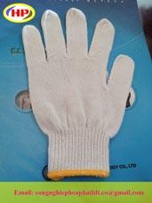 Găng tay sợi 10 mũi