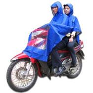 áo mưa 2 đầu