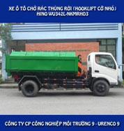 Xe chở rác thùng rời