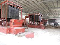 Lò tải nhiệt dầu đốt than