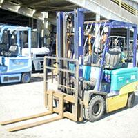 Xe Komatsu 2 tấn