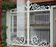 Sơn tĩnh điện cửa rào cổng