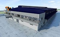 Nhà thép công ty MPC Logistics