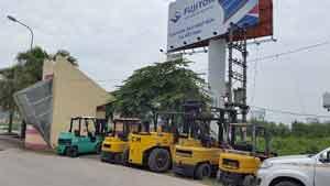 Cho thuê xe nâng tại KCN Thăng Long - HN