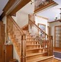 Cầu thang gỗ