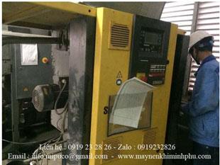 Bảo dưỡng máy nén khí Kaeser BSD 72