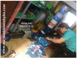 Sửa chữa máy nén khí Piston Hanshin