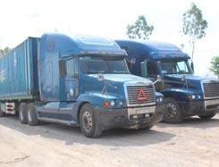 Xe công ty - Vận tải container